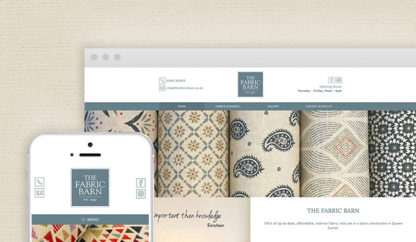The Fabric Barn - Re-Brand