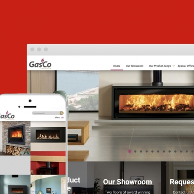 New website for Gasco Fireplace - Yeovil - Somerset
