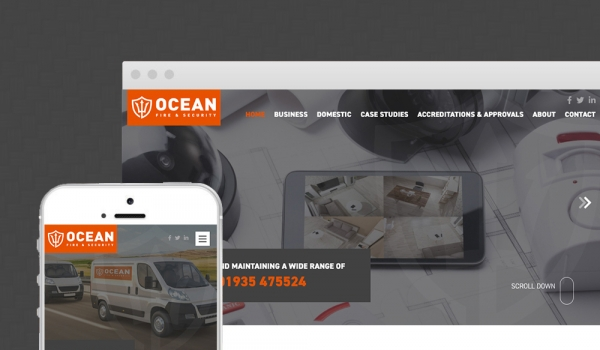 Ocean Fire and Security - New website